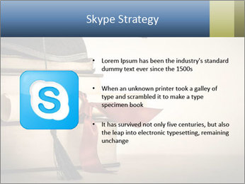 A mortarboard PowerPoint Templates - Slide 8
