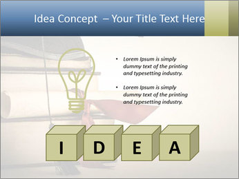 A mortarboard PowerPoint Templates - Slide 80