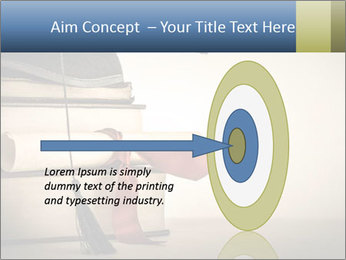 A mortarboard PowerPoint Templates - Slide 83