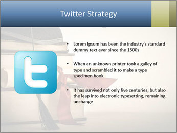 A mortarboard PowerPoint Templates - Slide 9