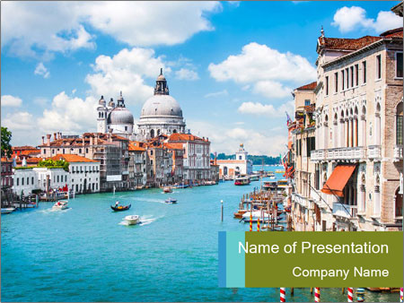 Canal Grande PowerPoint Template