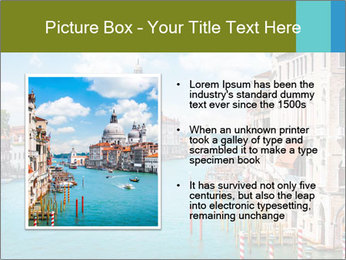 Canal Grande PowerPoint Template - Slide 13