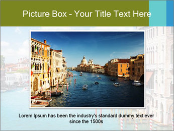 Canal Grande PowerPoint Template - Slide 15