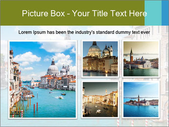 Canal Grande PowerPoint Template - Slide 19