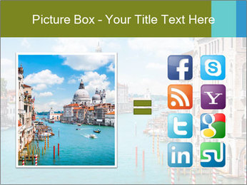 Canal Grande PowerPoint Template - Slide 21