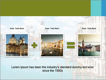 Canal Grande PowerPoint Template - Slide 22