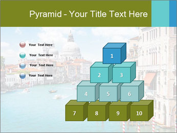 Canal Grande PowerPoint Template - Slide 31