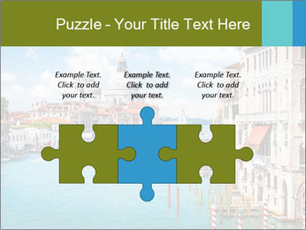 Canal Grande PowerPoint Template - Slide 42