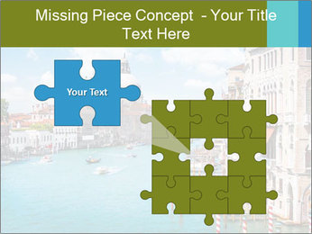 Canal Grande PowerPoint Template - Slide 45