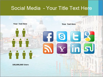 Canal Grande PowerPoint Template - Slide 5