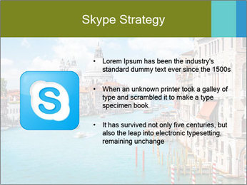 Canal Grande PowerPoint Template - Slide 8