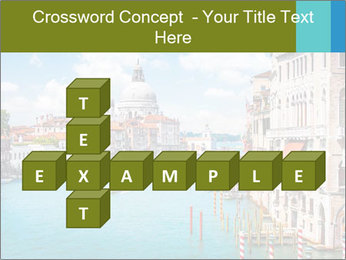 Canal Grande PowerPoint Template - Slide 82