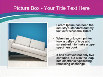 Leather sofa PowerPoint Templates - Slide 13