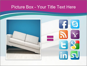 Leather sofa PowerPoint Templates - Slide 21