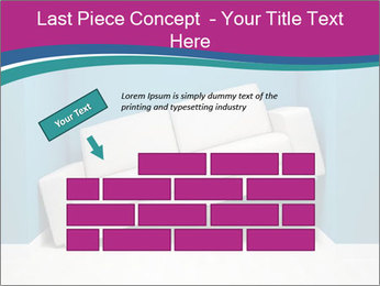 Leather sofa PowerPoint Templates - Slide 46