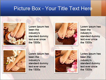 Female feet PowerPoint Templates - Slide 14