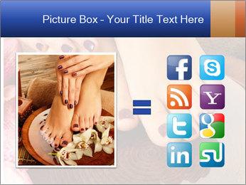 Female feet PowerPoint Templates - Slide 21