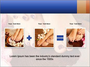 Female feet PowerPoint Templates - Slide 22