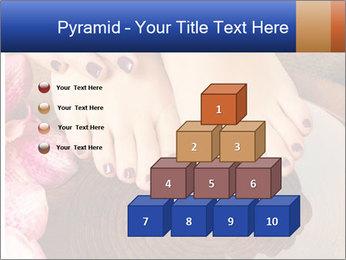 Female feet PowerPoint Templates - Slide 31