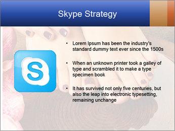 Female feet PowerPoint Templates - Slide 8