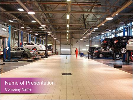 Repair garage PowerPoint Templates