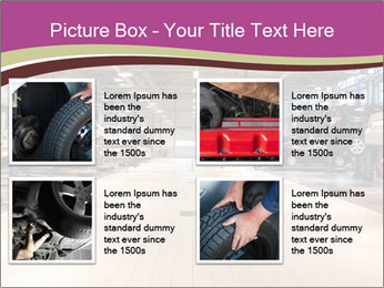 Repair garage PowerPoint Templates - Slide 14