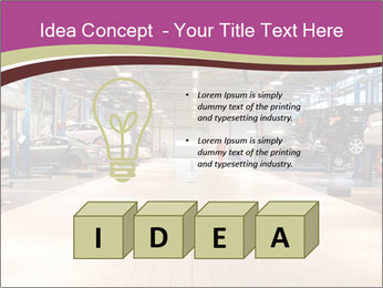 Repair garage PowerPoint Templates - Slide 80
