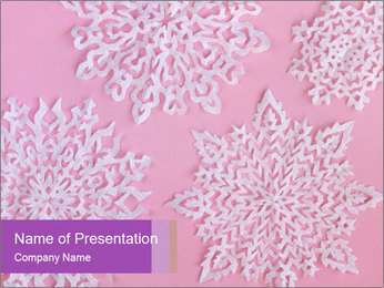 Christmas or New Year PowerPoint Template - Slide 1