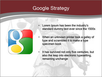 Justice statue PowerPoint Templates - Slide 10
