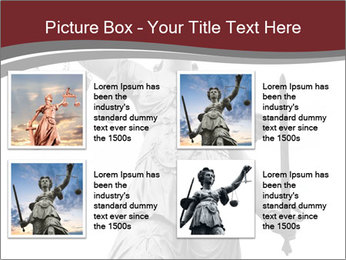 Justice statue PowerPoint Templates - Slide 14
