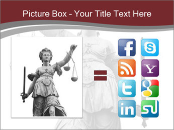 Justice statue PowerPoint Templates - Slide 21