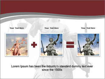 Justice statue PowerPoint Templates - Slide 22