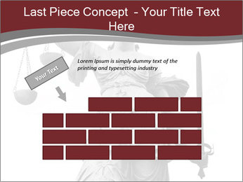 Justice statue PowerPoint Templates - Slide 46