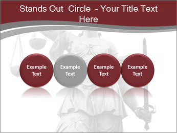 Justice statue PowerPoint Templates - Slide 76