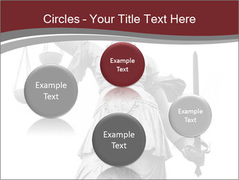 Justice statue PowerPoint Templates - Slide 77