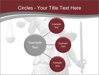 Justice statue PowerPoint Templates - Slide 79