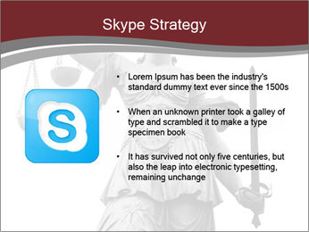 Justice statue PowerPoint Templates - Slide 8