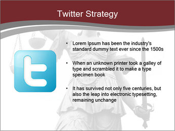 Justice statue PowerPoint Templates - Slide 9