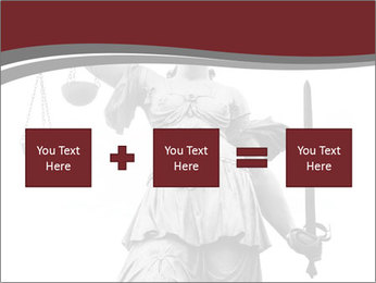 Justice statue PowerPoint Templates - Slide 95