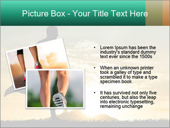 Running man PowerPoint Templates - Slide 20