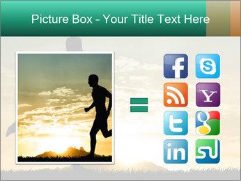 Running man PowerPoint Templates - Slide 21