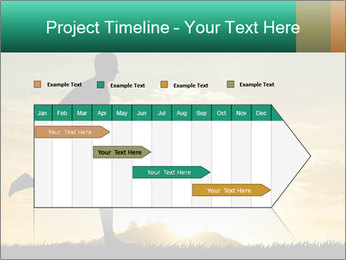 Running man PowerPoint Templates - Slide 25