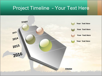 Running man PowerPoint Templates - Slide 26