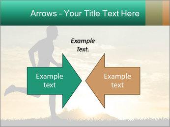 Running man PowerPoint Templates - Slide 90