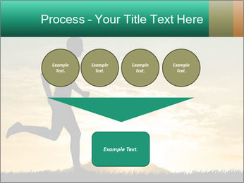 Running man PowerPoint Templates - Slide 93