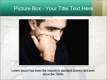 Sad lonely girl PowerPoint Template - Slide 16
