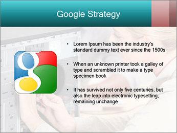 Technician repairing PowerPoint Templates - Slide 10