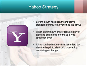Technician repairing PowerPoint Templates - Slide 11