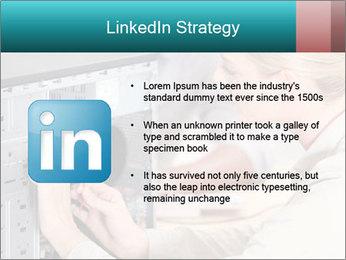 Technician repairing PowerPoint Templates - Slide 12