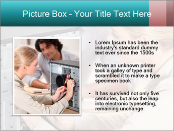 Technician repairing PowerPoint Templates - Slide 13